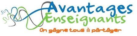 Logo avantage enseignants 1