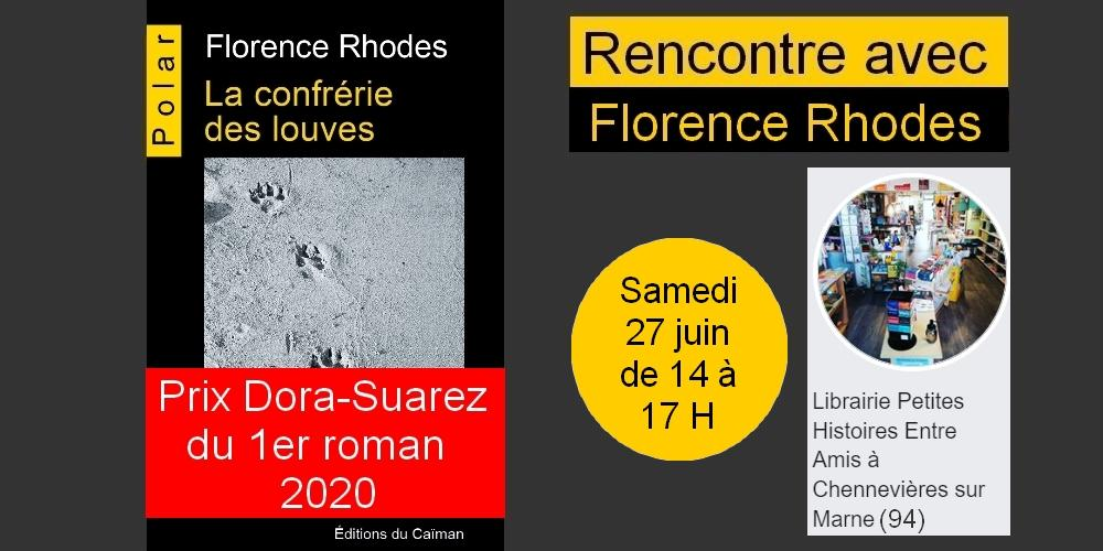Florence rhodes chennevieres
