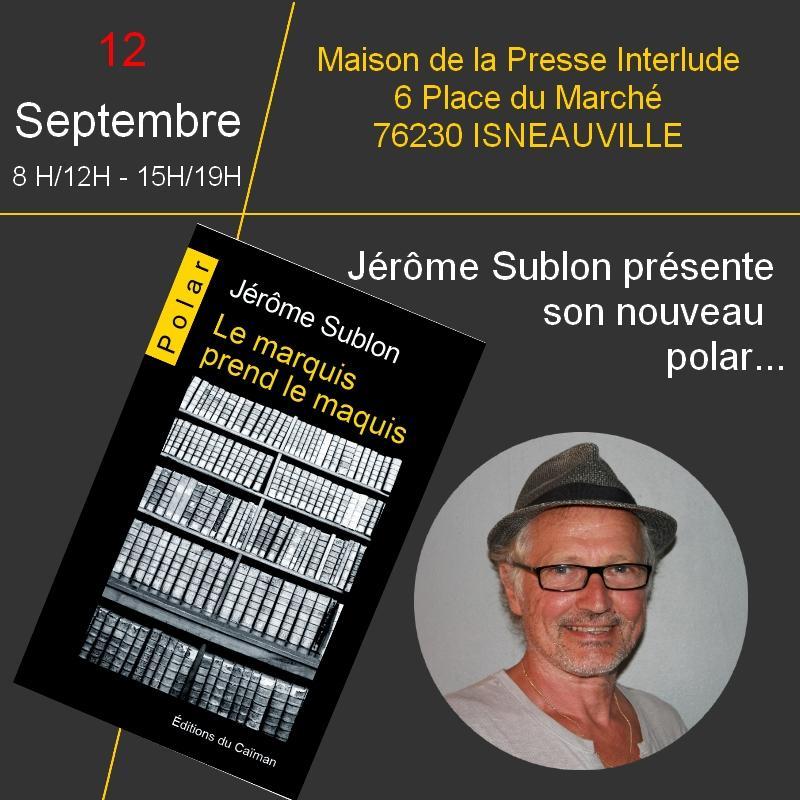 Jerome sublon isneauville