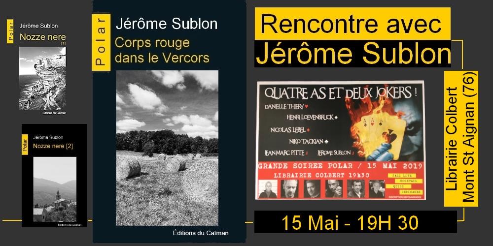 Jerome sublon mont st aignan