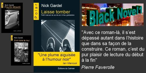Laisse tomber black novel