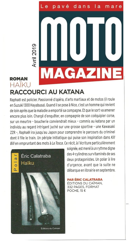 Moto magazine avril 19